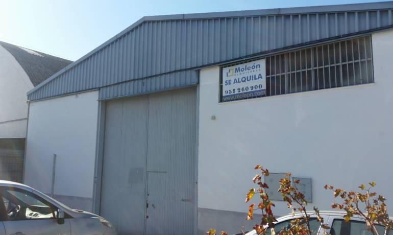 Se Alquila Nave industrial en Pl. Ind. Asegra